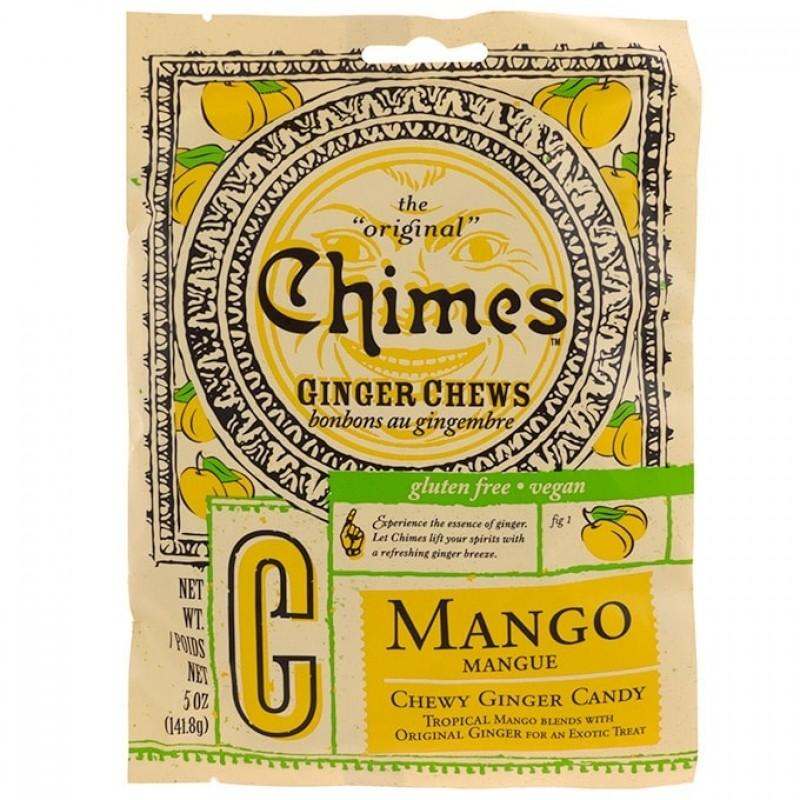 Chimes Mango Ginger Chews 5 oz Candy