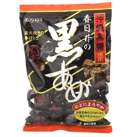 Kasugai Kuro Ame black sugar molasses hard candy japan