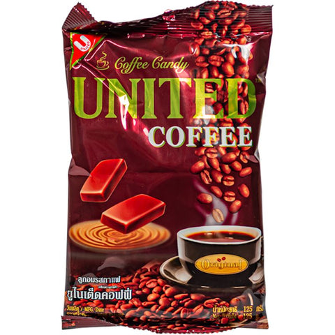 United Coffee Hard Candy From Thailand Hard United 4.41 oz