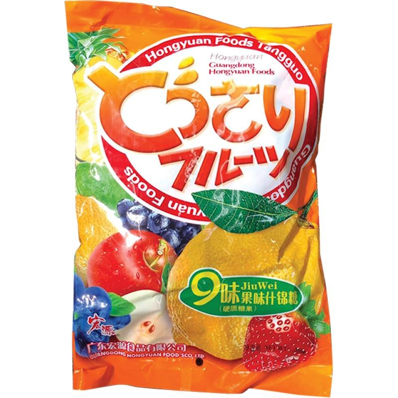HongYuan Foods assorted Fruit mix candy