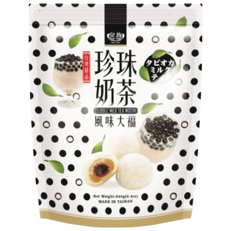 Royal Family Bubble Milk Tea Boba Tea Mochi 8.4 oz