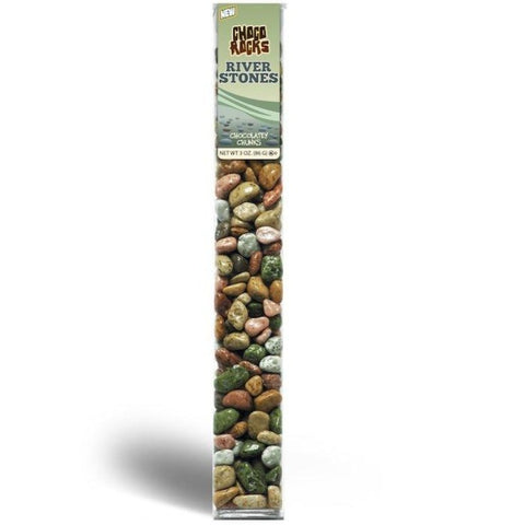 Kimmie Candy Riverstones Chocorocks 3 oz Tube Seasonal Kimmie Candy