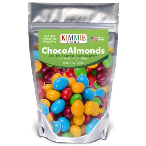 Kimmie Candy Regular Mix ChocoAlmonds 5.1 oz Bag Seasonal Kimmie Candy