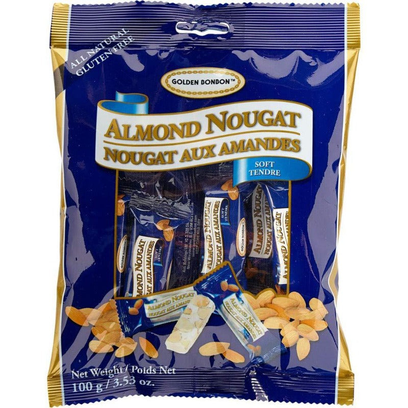 Golden Bonbon Almond Nougat Soft