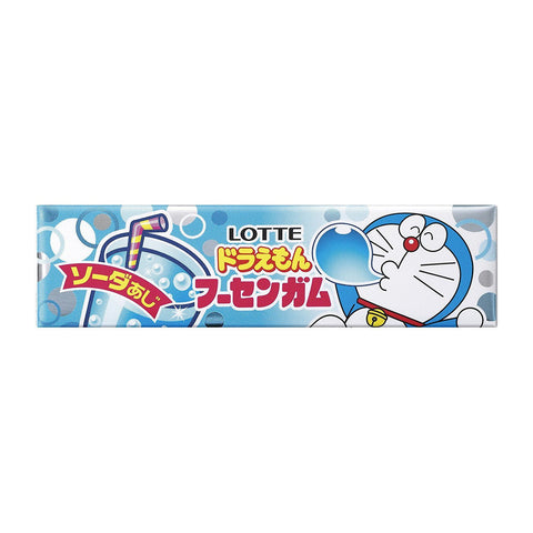 Lotte Doraemon Fusen Bubble Gum Ramune Soda 5 pieces
