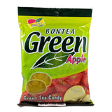 Bontea Green Tea Hard Candy Apple
