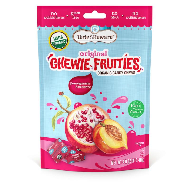 Torie and Howard Organic Chewie Candy Pomegranate & Nectarine