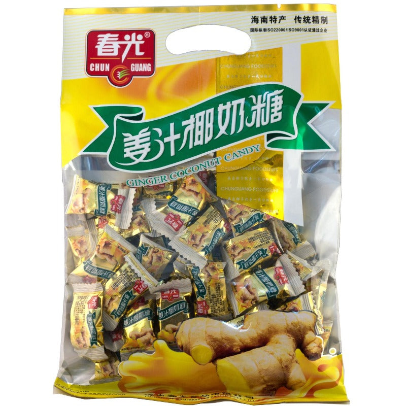 Chun Guang Ginger Coconut Hard Candy