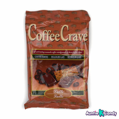 CoffeeCrave Latte Coffee Hard Candy Indonesia