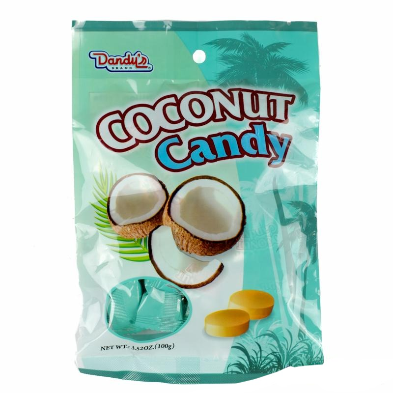 Dandy's Coconut Hard Candy - Auntie K Candy
