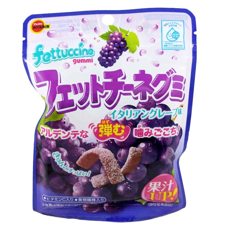 Bourbon Fettuccine Gummi Grape Candy