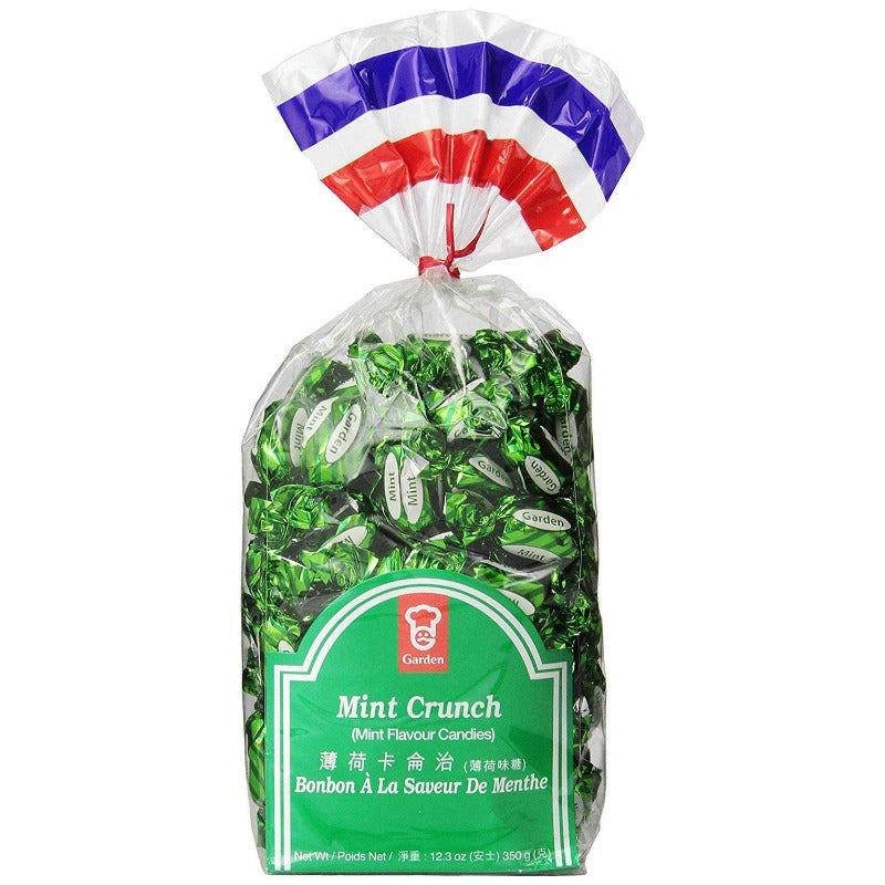 Garden Mint Crunch Hard Candy, 12.3 oz Hard Garden