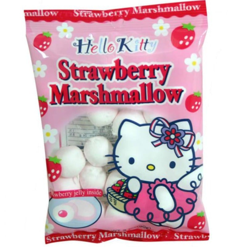 Hello Kitty Strawberry Chewy Marshmallow Candy