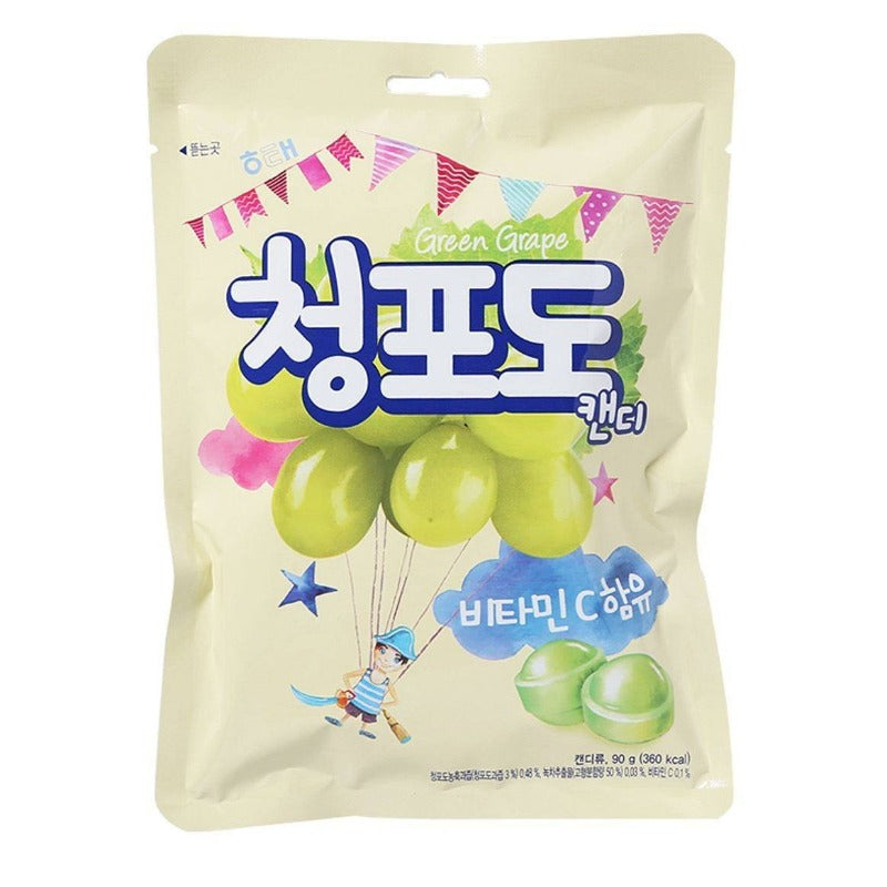 Haitai Muscat Green Grape Hard Candy