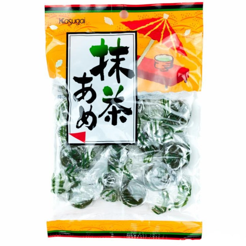 Kasugai matcha ame green tea hard candy Japan