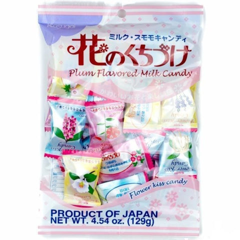 kasugai flower kiss milk plum candy hana no kuchizuke japan hard