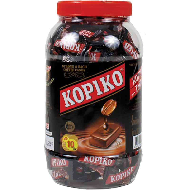 Kopiko Classic Regular Coffee Hard Candy Jar Hard Kopiko