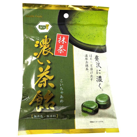 Nissin Koicha Matcha Green Tea Hard Candy, 3.35 oz Hard Nissin