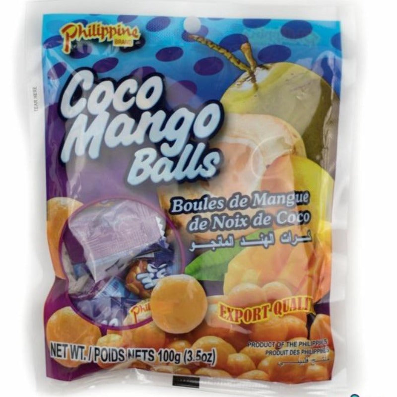 Philippine Dried Coconut Mango Balls Chewy Fruit Treats Chewy Philippine