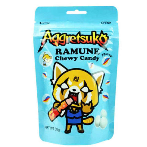 aggretsuko Ramune Chewy Milk Candy