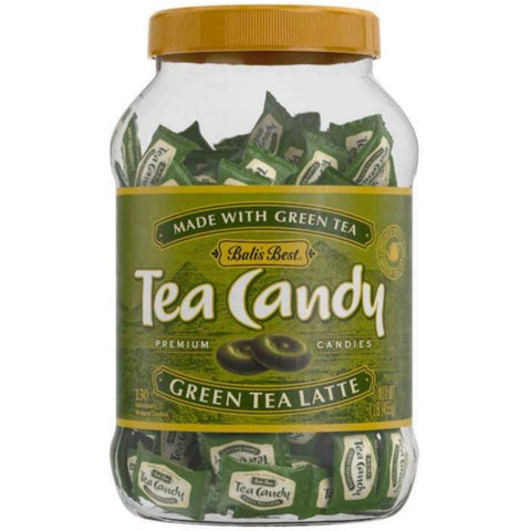 Bali's Best Green Tea Latte Hard Candy Jar, 100 pieces Hard Bali's Best