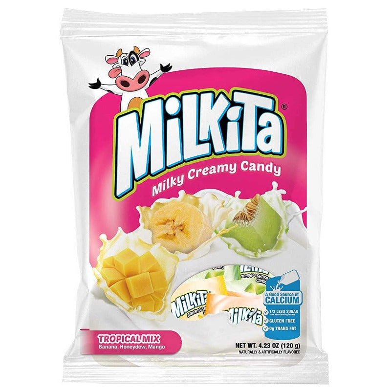 Milkita tropical mix mango honeydew melon banana
