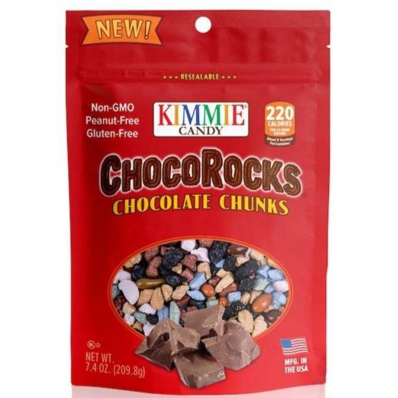 Kimmie Candy Regular Mix Chocorocks 7.4 oz Bag Seasonal Kimmie Candy