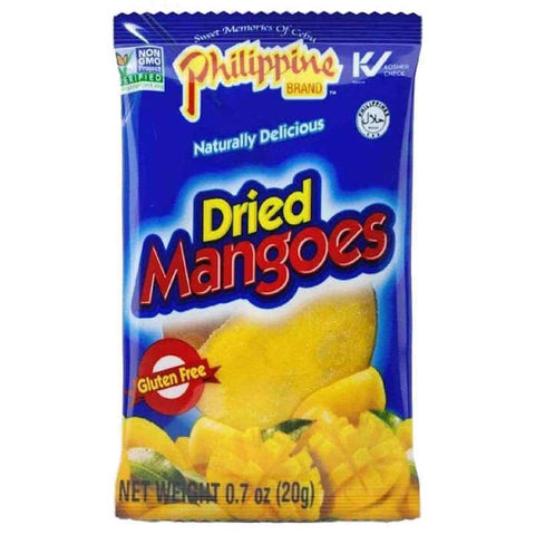Philippine Dried Green Mangoes Mango Chewy Fruit Treats, 0.7 oz