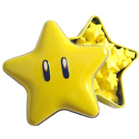 Nintendo Super Star Hard Candy Tin