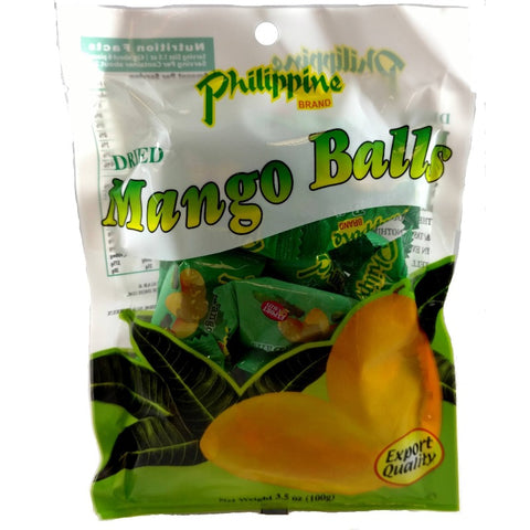 philippine dried mango ball fruit
