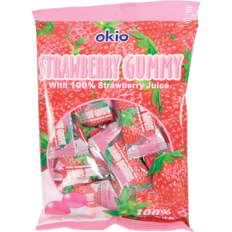 okio strawberry gummy candy