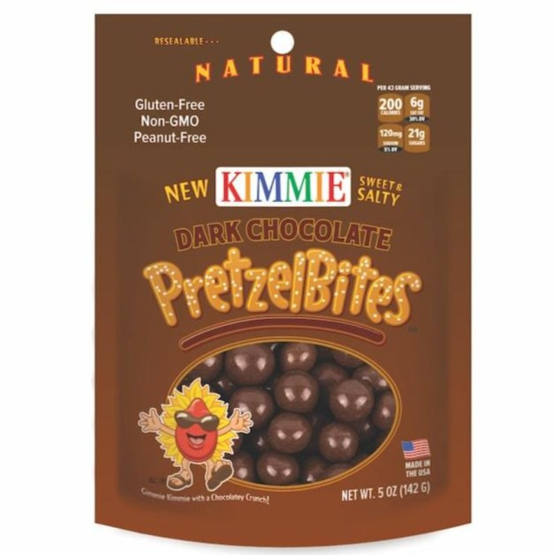 Dark Chocolate Pretzel Bites Kimmie Candy