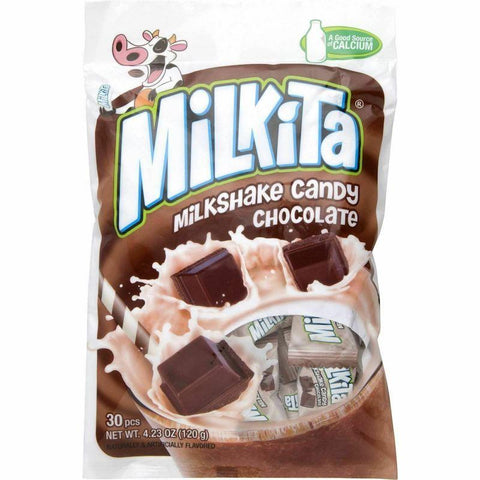Milkita Chocolate Milk Chewy Candy 4.23 oz