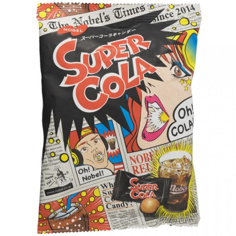 Nobel Super Cola Sour Fizzy Candy Hard
