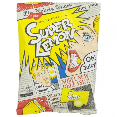 Nobel Super Lemon Hard Sour Candy