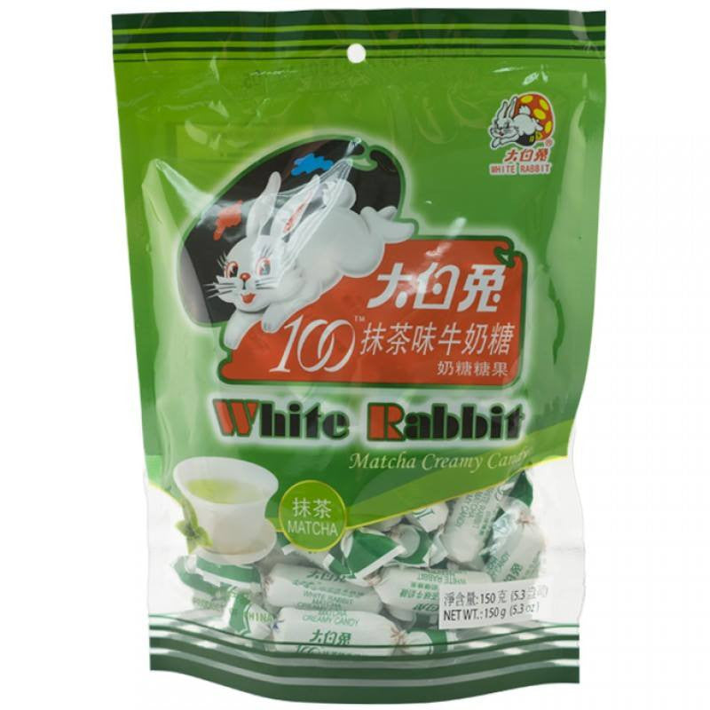 White Rabbit Matcha Green Tea Chewy Milk Candy