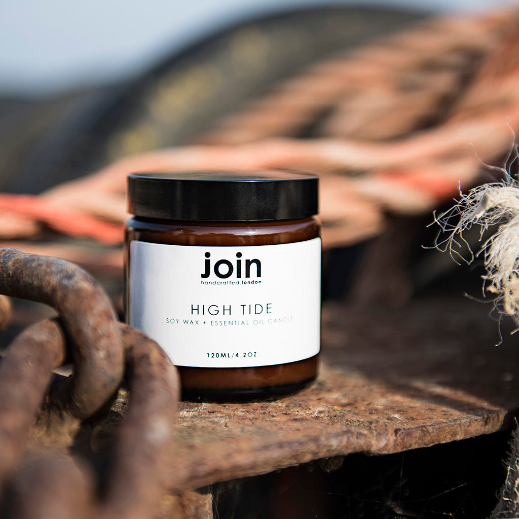 High Tide - Join Luxury Scented Soy Wax + Essential Oil Candle