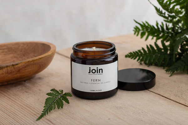 Fern - Join Luxury Scented Soy Wax + Essential Oil Candle
