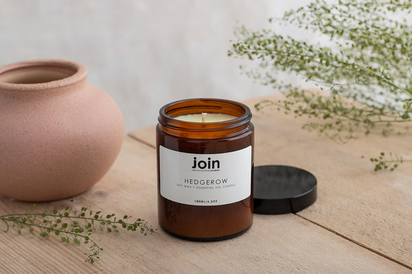 Hedgerow - Join Luxury Scented Soy Wax + Essential Oil Candle