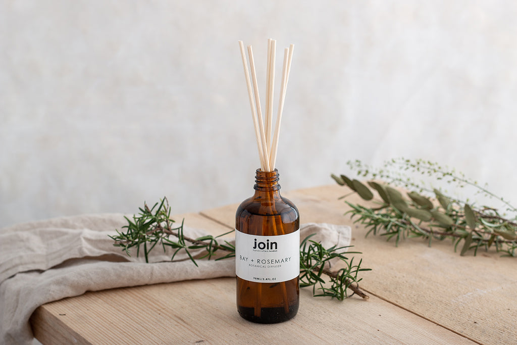 Bay + Rosemary - Join Luxury Essential Oil Botanical Room Diffuser