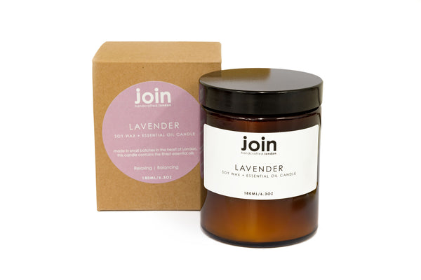 Lavender - Join Apothecary Luxury Scented Soy Wax Candle