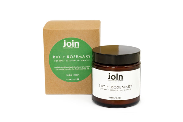 Bay + Rosemary - Join Apothecary Luxury Scented Soy Wax Candle