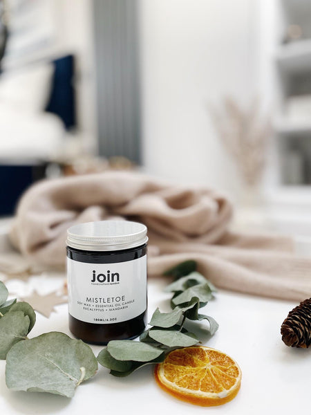 Mistletoe | Join Luxury Soy Wax + Essential Oil  Candle