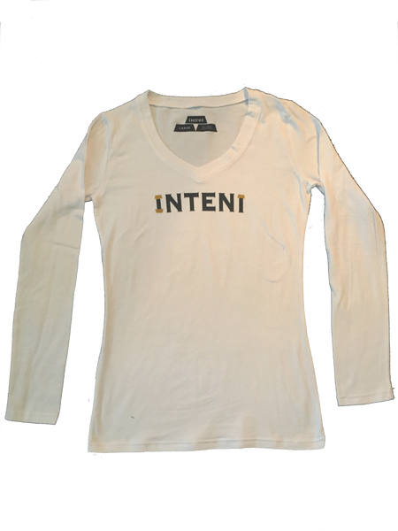 LADIES L/S / WHITE // L.E WEALTH SET // INTENT STORES LOS ANGELES