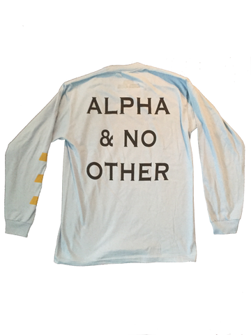 ALPHA L/S / SKY BLUE // L.E WEALTH SET // INTENT STORES LOS ANGELES