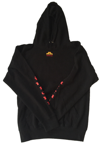 Black Logo Hoodie - Wealth Set / Intent Stores® Intent LA /