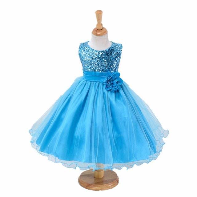 3-14yrs teenagers Girls Dress Wedding Party Princess Christmas Dresse for girl Party Costume Kids Cotton Party girls Clothing-hipnfly-as picture 2-3T-hipnfly