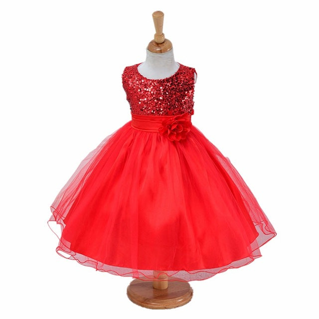 3-14yrs teenagers Girls Dress Wedding Party Princess Christmas Dresse for girl Party Costume Kids Cotton Party girls Clothing-hipnfly-as picture 3-3T-hipnfly
