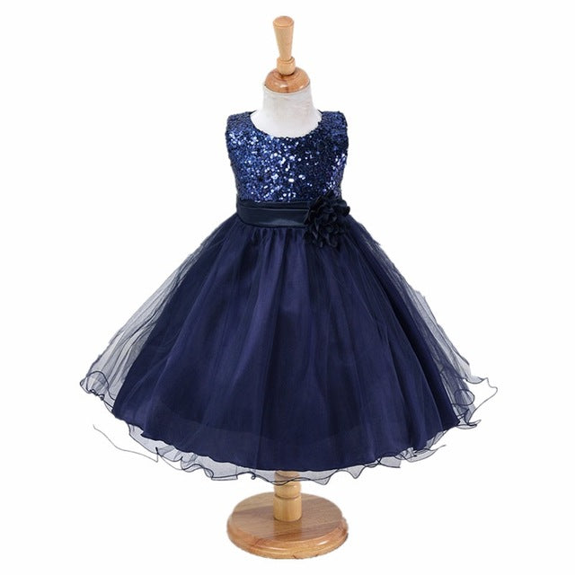 3-14yrs teenagers Girls Dress Wedding Party Princess Christmas Dresse for girl Party Costume Kids Cotton Party girls Clothing-hipnfly-as picture 6-3T-hipnfly