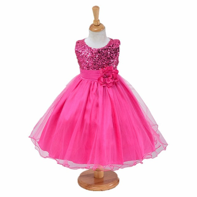 3-14yrs teenagers Girls Dress Wedding Party Princess Christmas Dresse for girl Party Costume Kids Cotton Party girls Clothing-hipnfly-as picture 7-3T-hipnfly